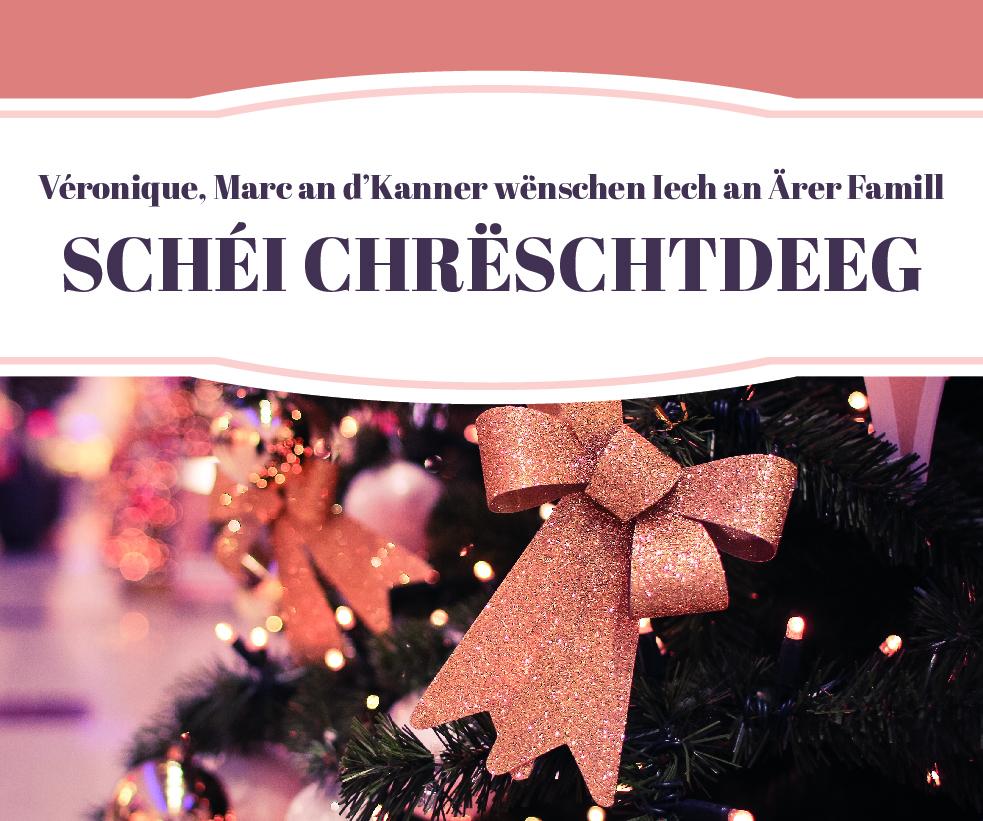 Schéi Chreschtdeg